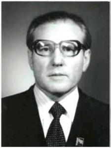 ZHAKOV Michail Stjepanowitsch Rektor 1968 – 1995