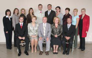 Коллектив кафедры фармакологии и токсикологии в 2008 году