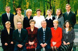 Коллектив кафедры фармакологии и токсикологии в 2002 году