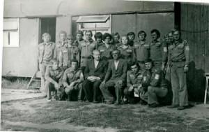Студенческий отряд   (командир Олехнович Н.И.)