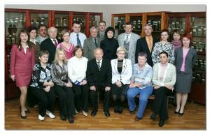 Коллектив кафедры в 2008 году.