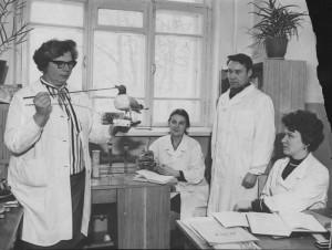 слева направо: Серак Е. И., Станчинская В. В., Гончаров С.К., Вель Л. Г.