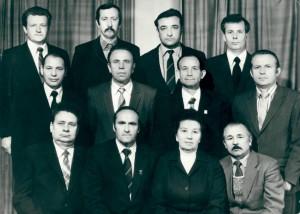 Коллектив кафедры в 1984 году.