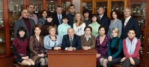 Коллектив кафедры в 2013 году