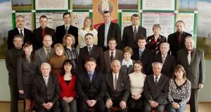 Коллектив кафедры в 2009 году.