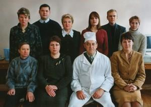 Состав кафедры в 2003 г.
