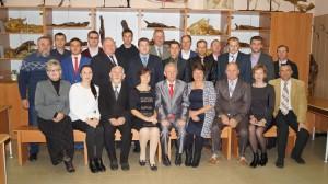 Состав кафедры в 2016 году
