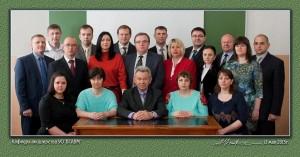 Коллектив кафедры в 2015 году