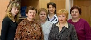 Коллектив редакционно-издательского отдела в 2009 году