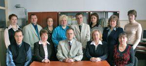 Сотрудники кафедры в 2009 году
