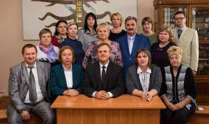 Сотрудники кафедры в 2017 году