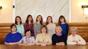 Коллектив редакционно-издательского отдела в 2018 году