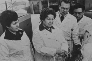 Сотрудники кафедры в 1981 году