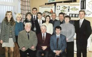 Сотрудники кафедры, 2002
