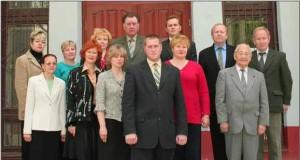 Коллектив кафедры в 2006 году