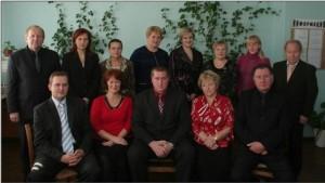 Коллектив кафедры в 2008 году