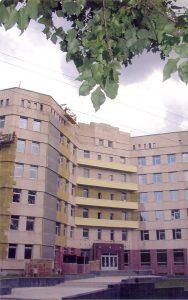 Учебно-лабораторный корпус, где с 2005 года размещается кафедра паразитологии (второй этаж)