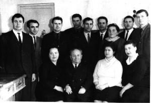 Кафедра органической и биологической химии, 1966 год