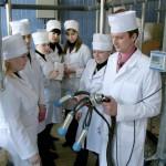 Занятие на кафедре технологии производства продукции