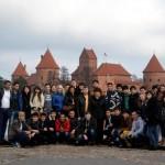 Образовательный тур туркменских и белорусских студентов в осеннем Вильнюсе