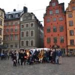 Посещение Латвийского университета студентами академии