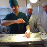 Проведение операций в клинике кафедры общей и частной хирургии
