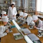 на занятиях по паразитологии и инвазионным болезням