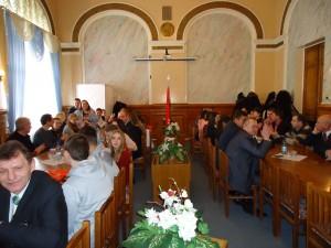 Церемония награды победителей Олимпиады проводилась в конференц-зале академии