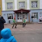 Выступление студентов на праздничных мероприятиях в академии