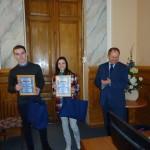 Награждение победителей дипломами