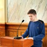 студент группы №5 Кохнюк Дмитрий рассказывает о Герое Советского Союза Бескине И.С