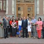 На биотехнологическом факультете выпускники получили свой заветный диплом