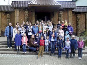 Посещение Березинского заповедника сотрудниками академии с детьми