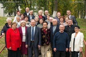 Встреча ректора академии Н.И. Гавриченко с бывшими работниками академии в 2017 году