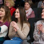 Мужчины  академии подготовили праздничный концерт, посвященный дню женщин