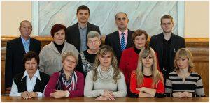 Коллектив лаборатории информационных технологий (2013 год)