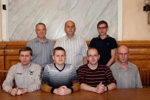 Коллектив лаборатории информационных технологий (2018 год)
