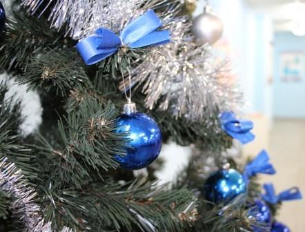 Библиотека поздравляет с Новым годом и Рождеством!