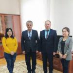Ответный визит в Самаркандский институт ветеринарной медицины