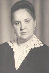 Пахноцкая Александра Васильевна