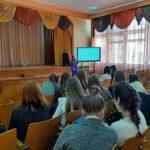 Профориентационная работа заведующего кафедрой кормопроизводства Моисеевой Марии Олеговны в г. Бобруйске