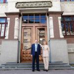 Ректор Вятского государственного агротехнологического университета с деловым визитом в академии