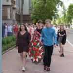 Возложение венков, посвященное  Дню Независимости Республики Беларусь