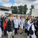 Учебная сельскохозяйственная практика у студентов 2 курса ФВМ