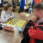 Участие студентов УО ВГАВМ в соревнованиях по шашкам