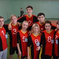 Спортландия среди студентов,  проживающих в общежитиях  Октябрьского района города Витебска.