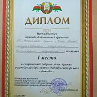 """Поздравляем с победой добровольную дружину академии """"Сапсан"""""""