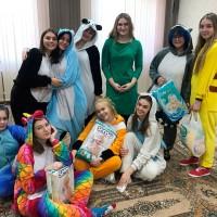 Волонтеры академии посетили Дом ребенка