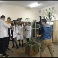 «Беларускi час» в гостях на кафедре зоологии