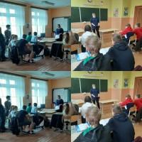 Была проведена профориентационная работа в Оршанском районе 27 -28 октября